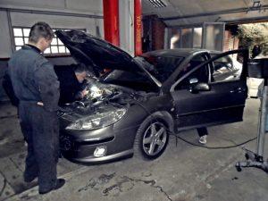 servis vozila - Peugeot 407