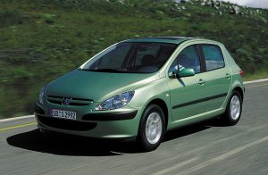 Auto godine 2002. - Peugeot 307